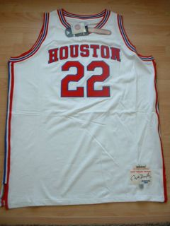 Houston Cougars Clyde Drexler Authentic Auto Jersey 60