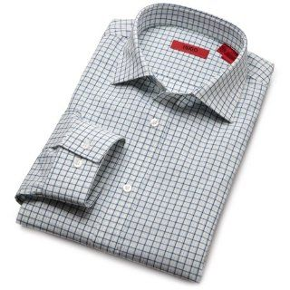 HUGO BOSS Mens Enderson X Slim Fit Check Pattern Dress