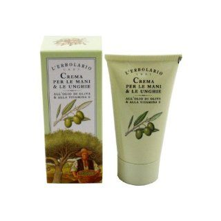 Hand and Nail Cream with Olive Oil, Shea Butter & Vitamin