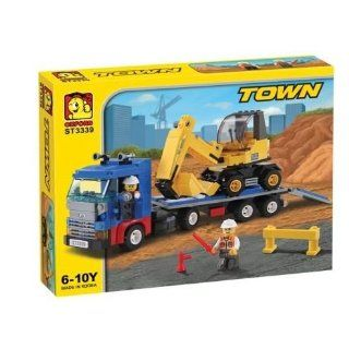 Heavy Equipment Trailer Oxford St3339   Building Blocks