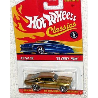 Hot Wheels Classics Series 3 69 Chevy Nova 1969 Gold Paint