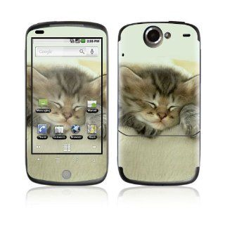 Animal Sleeping Kitty Decorative Skin Cover Decal Sticker