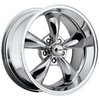 Rev Classic 100 17 Chrome Wheel / Rim 5x110 with a 35mm Offset and a
