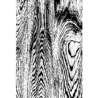 Tim Holtz Red Rubber Stamp, Wood Grain