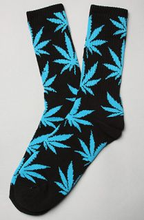 Karmaloop HUF The Plant Life Socks Black