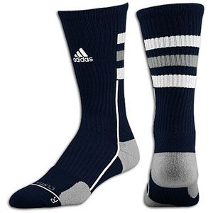 adidas Team Speed Crew Sock   Mens   Collegiate Navy/Aluminum/White