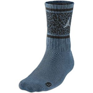 Jordan Striped Elephant Crew Sock   Mens   Basketball   Accessories