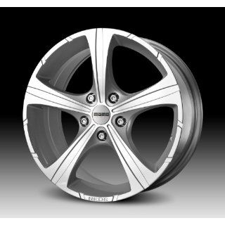 MOMO Car Wheel Rim   Black Knight   Silver   16 x 7 inch   5 on 114.3