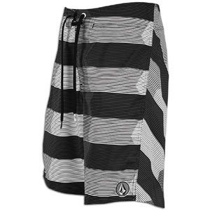 Volcom V6S Stripe Boardshort   Mens   Casual   Clothing   Black
