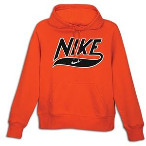Nike Classic Fleece Applique PO Hoody   Mens   Casual   Clothing