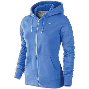 Nike Classic Fleece Swoosh Full Zip Hoodie   Womens   Casual