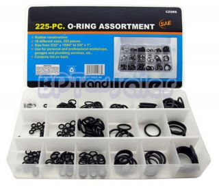 Rubber Assortment SAE Kit Tools Hydraulics Air Gas HVAC New