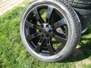 BLACK CK375 22 GM CHEVY Cadillac Escalade Denali Tahoe LTZ Wheel Rim