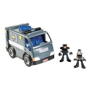 Imaginext Gotham City Collection GCPD OFFICER BANE & VEHICLE Toys R Us