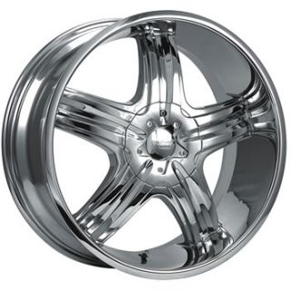 20x9 Chrome Wheel Cruiser Alloy Impulse 5x4 5 5x4 75