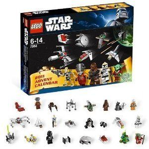 New in Box Lego Star Wars Advent Calendar with Christmas Yoda 7958