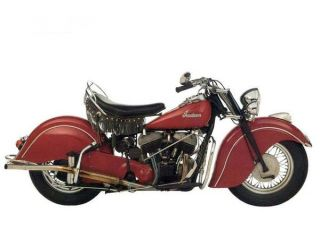 Indian Scout 1944 1948 Parts List Motorcycle Manual