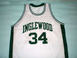 Paul Pierce Inglewood High School Jersey White New Any Size MLE