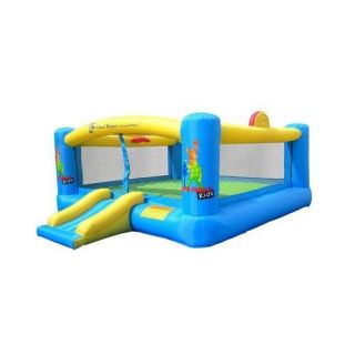 Island Hopper Hoops   N   Hops Inflatable Bounce House 144 x180 x 84