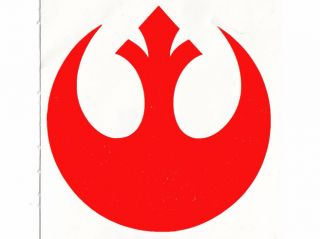 Star Wars Rebel Insignia Decal Sticker Graphic 18cm