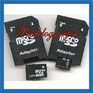 10 x 2GB 4GB 8GB 16GB 32GB Micro Card Adapter to SD Memory Card SHIP