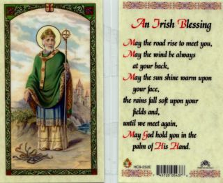 Prayer Cards 29 Discount An Irish Blessing May The Road Rise to Meet