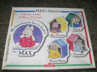 Maxs Friends Boxed Puzzle Set Nice by International Playthings