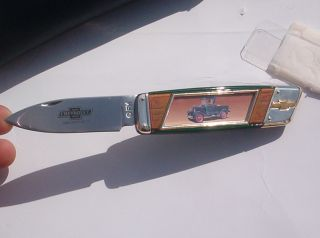 Franklin Mint Collectors Knife 1928 Light Duty Chevrolet