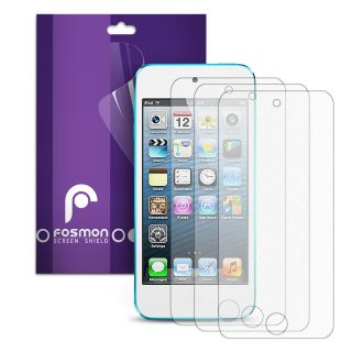 Fosmon 3 Pack Anti Glare Matte Screen Protector Guard for Apple iPod