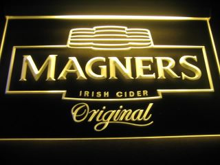 W3701 Magners Irish Cider Bar Beer Pub LED Light Sign