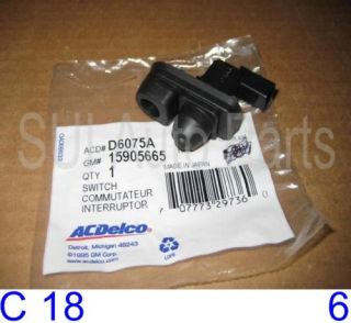 H3 Colorado Canyon Door Jamb Switch Factory GM C18 3Z Qty 1