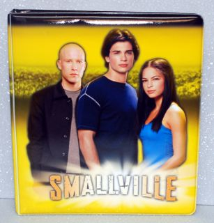 Superman Smallville Trading Card Binder Season 3