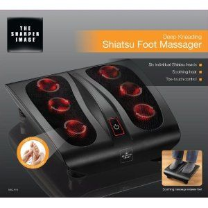 The Sharper Image Deep Kneading Shiatsu Foot Massager MSG F110