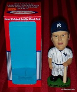 25 Jason Giambi New York Yankees Baseball Bobblehead 7 1 2 Tall New