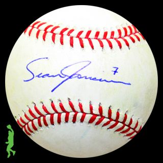 Sean Jamieson Signed Auto Game Used Rawlings ROMLB Baseball Ball