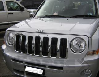 2007 2010 Jeep Patriot Chrome Grille Insert