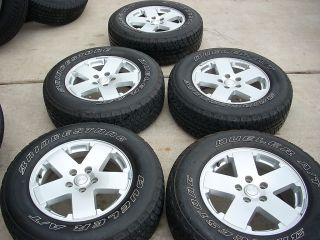 18 Jeep Wrangler Wheels Tires Rims Unlimited Sahara Sport Rubicon