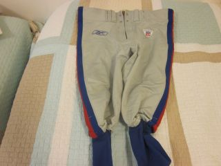 New York Giants NFL Football Game Used Pants 80 Jeremy Shockey