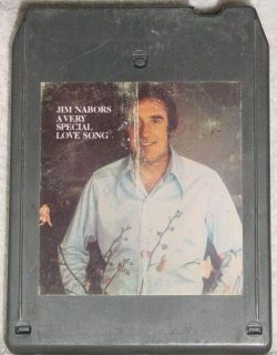 Jim Nabors A Very Special Love Song Vintage 8 Track Tape Stereo Music