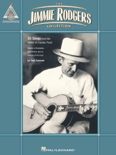Jimmie Rodgers Collection Guitar Tab Sheet Music Book