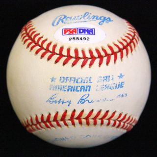 Jim Thome Signed Autographed OAL Baseball Ball PSA DNA