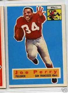 1956 Topps Football 110 Joe Perry San Francisco 49ers