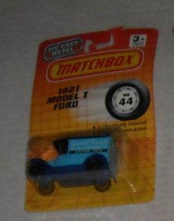 1992 Matchbox Goodyear 1921 Model T Ford 44