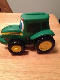John Deere Tractor and Book in One