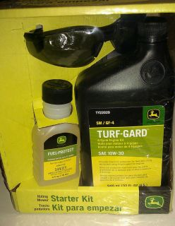 John Deere Riding Mower Starter Kit Nice Gift Set
