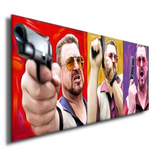 Big Lebowski John Goodman Home Theater DVD Painting Pop Art Giclee Print C