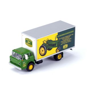 Athearn ATH8101 HO Scale Ford C Cab Box Van John Deere 50 60 Series Tractor