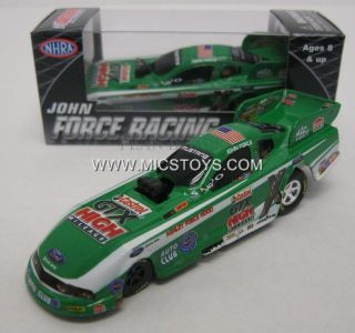 2011 John Force Castrol GTX High Mileage Funny Car NHRA Pitstop 1 64 INSTOCK