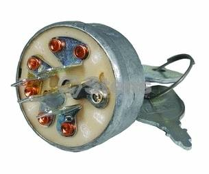 Key Starter Switch John Deere AM103286 AM32318