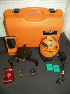 Johnson Level Tool AccuLine Pro 40 6660 Multi Beam Self Leveling Laser Plumb